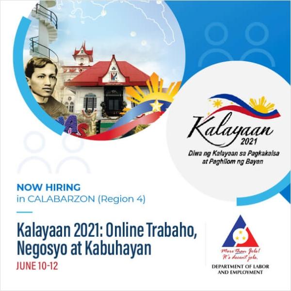 CALABARZON Region 4-A Independence Day Job Fair - Workbank