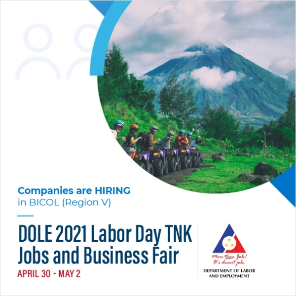 BICOL Region Labor Day Job Fair - Workbank