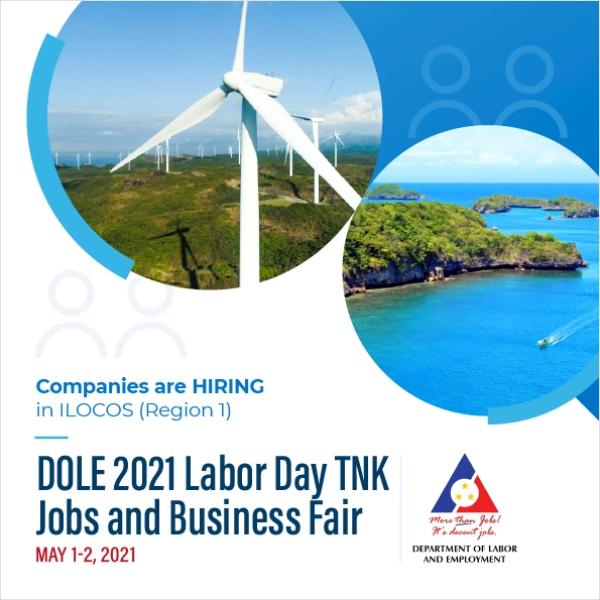 ILOCOS Region Labor Day Job Fair - Workbank