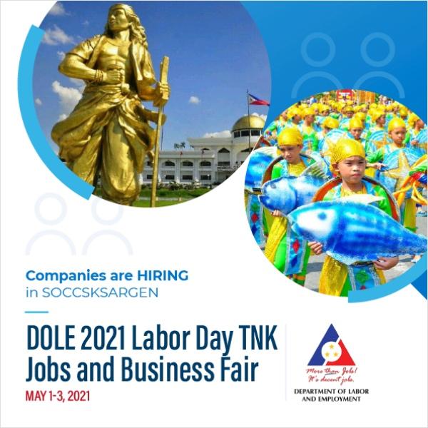 SOCCSKSARGEN Region Labor Day Job Fair - Workbank